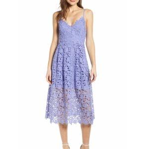 ATSR Lace A-Line Midi Dress
